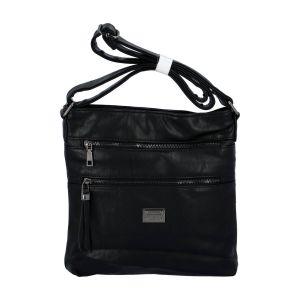 Dámská crossbody kabelka černá – Romina Chiara černá