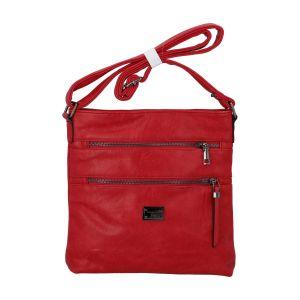 Dámská crossbody kabelka červená – Romina Chiara červená