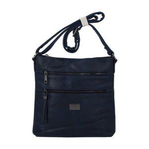 Dámská crossbody kabelka tmavě modrá – Romina Chiara tmavě modrá