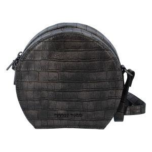Módní stylová crossbody kabelka šedá – Marco Tozzi Kroko šedá