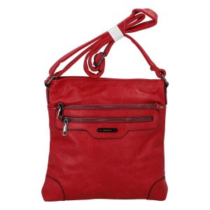 Dámská crossbody kabelka červená – Romina Hana červená