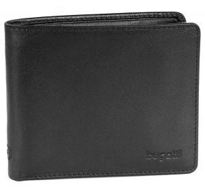 Bugatti Pánská kožená peněženka 49108101 Black
