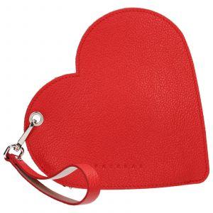 Trendy kožené psaníčko Facebag Love – červená