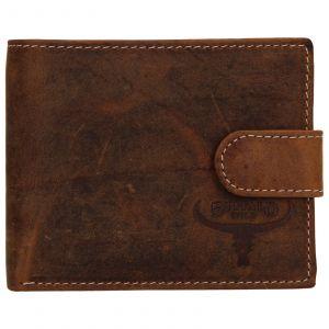 Pánská kožená peněženka Wild Buffalo Radim – hnědá