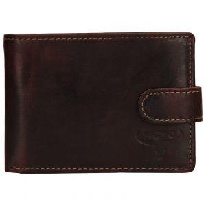 Pánská kožená peněženka Wild Buffalo Tommy – hnědá