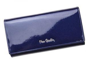 Dámská kožená peněženka Pierre Cardin Romano – modrá