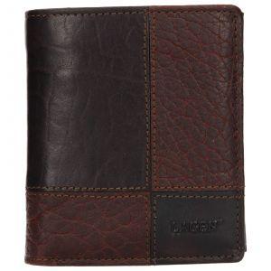 Pánská kožená peněženka Lagen Apolone – tmavě hnědá