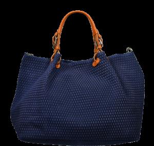Kožená kabelka přes rameno Belloza Blu 2