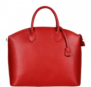 Červená kabelka do ruky Ofelia Rossa