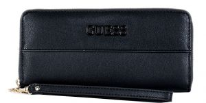 Guess Dámská peněženka Isla Slg Large Zip Around SWVE78 89460 black-bla
