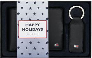 Tommy Hilfiger Dárková sada kožené peněženky a přívěsku Eton Cc And Coin Pckt Keyfob Box AM0AM01183002