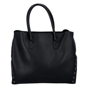 Dámská luxusní módní kabelka černá – Marco Tozzi Diamond černá