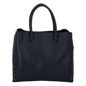 Dámská luxusní módní kabelka tmavě modrá – Marco Tozzi Diamond tmavě modrá