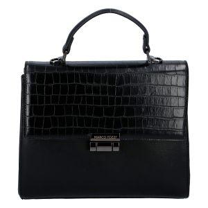 Luxusní dámská módní kabelka černá – Marco Tozzi Clas černá