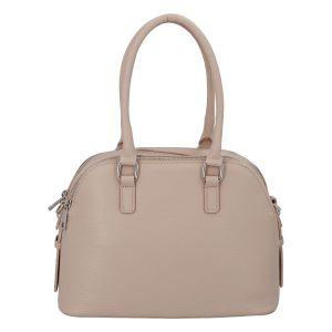 Módní dámská kožená kabelka růžová – ItalY Salva růžová