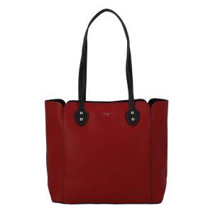 Dámská kabelka David Jones Helga – červená