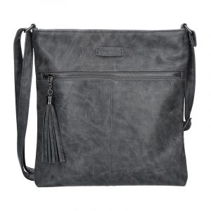 Dámská crossbody kabelka Enrico Benetti 66233 – tmavě šedá