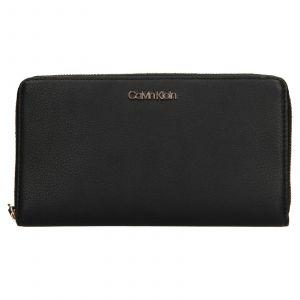 Dámská peněženka Calvin Klein Wallie – černá