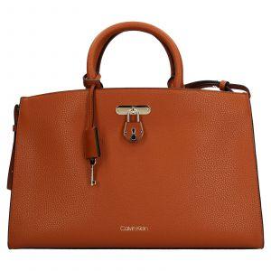 Dámská kabelka Calvin Klein Matelda – koňak