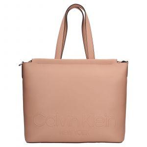 Dámská kabelka Calvin Klein Vivas – růžová