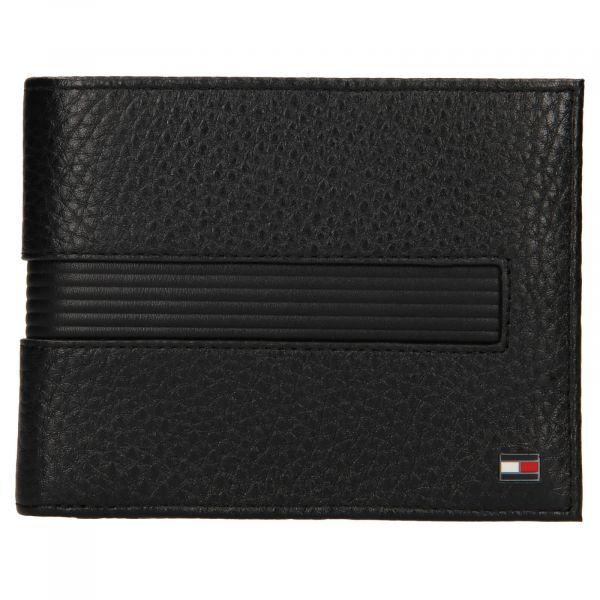 Pánská kožená peněženka Tommy Hilfiger Merone – černá