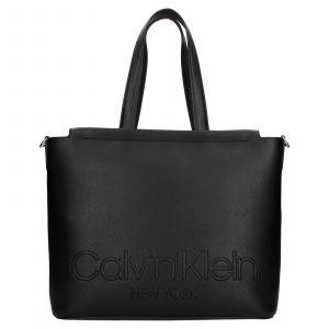 Dámská kabelka Calvin Klein Vivas – černá