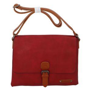 Dámská crossbody kabelka červená – FLORA&CO Jacuza červená