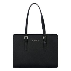 Dámská kabelka přes rameno černá – FLORA&CO Sanifa černá
