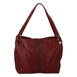 Dámská kožená kabelka červená – ItalY Sofia červená