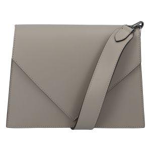 Luxusní kožená crossbody kabelka taupe – ItalY Wien taupe