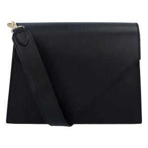 Luxusní kožená crossbody kabelka černá – ItalY Wien černá