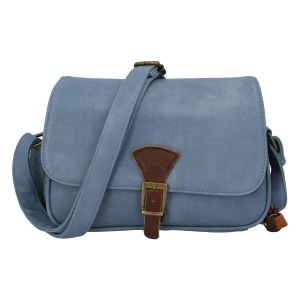 Dámská crossbody kabelka bledě modrá – Paolo Bags Irma modrá