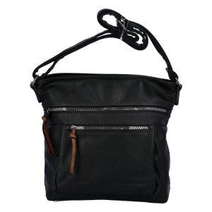 Dámská crossbody kabelka černá – Paolo Bags Skule černá