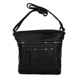 Dámská crossbody kabelka černá – Paolo Bags Skule One černá
