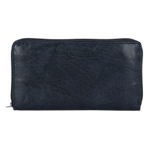 Dámská kožená peněženka tmavě modrá – Tomas Imvilophu tmavě modrá