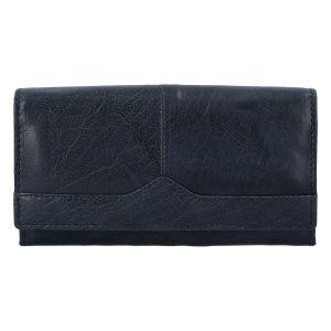 Dámská kožená peněženka tmavě modrá – Tomas Slat tmavě modrá