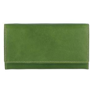 Dámská kožená peněženka zelená – Tomas Kalasia zelená
