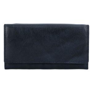 Dámská kožená peněženka tmavě modrá – Tomas Kalasia tmavě modrá