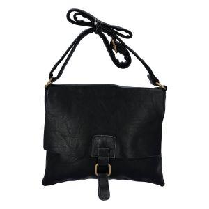 Dámská crossbody kabelka černá – Paolo Bags Jostein černá