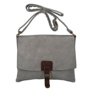 Dámská crossbody kabelka šedá – Paolo Bags Jostein šedá