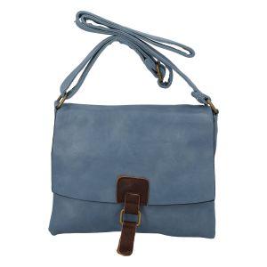 Dámská crossbody kabelka bledě modrá – Paolo Bags Jostein modrá