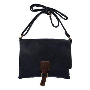 Dámská crossbody kabelka tmavě modrá – Paolo Bags Jostein tmavě modrá