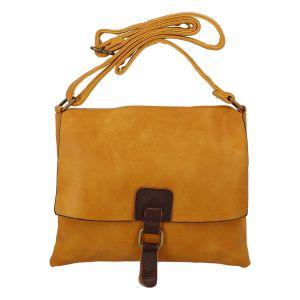 Dámská crossbody kabelka žlutá – Paolo Bags Jostein žlutá