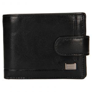 Pánská kožená peněženka Rovicky Fabio – černá