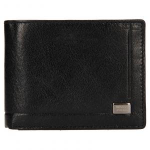 Pánská kožená peněženka Rovicky Kamil – černá