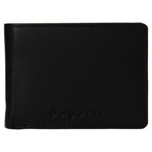 Pánská kožená peněženka Bugatti Hanke – černá