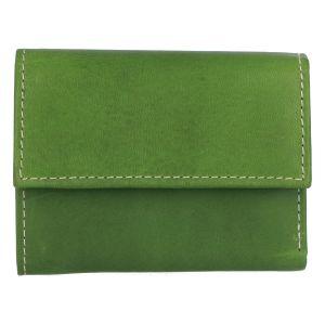 Dámská kožená peněženka zelená – Tomas Gulia zelená