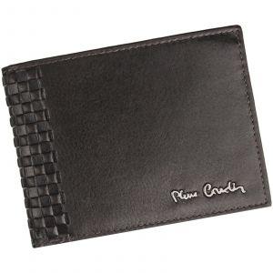 Pánská kožená peněženka Pierre Cardin Oddfrid – tmavě hnědá