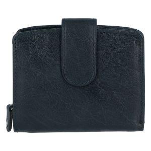 Dámská kožená peněženka tmavě modrá – Tomas Coulenzy tmavě modrá