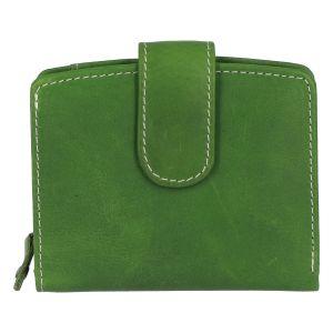 Dámská kožená peněženka zelená – Tomas Coulenzy zelená